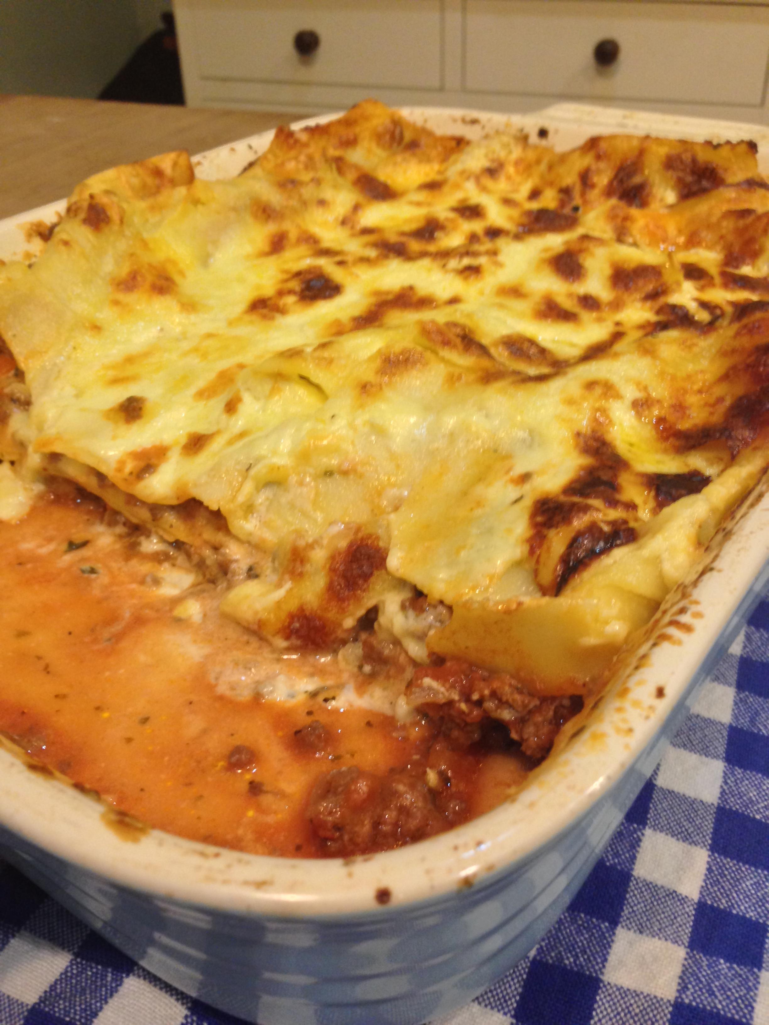 Classic Lasagne Best Gluten Free Classic Lasagne Tabithas Gluten Free Dishes